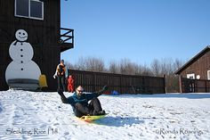 Kids of all ages have fun sledding at Rice Hill in Taughannock Falls State Park. http://www.ilovethefingerlakes.com/recreation/stateparks-taughannockfalls-winter.htm