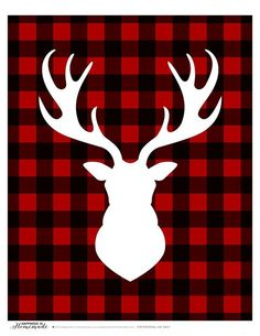 Buffalo Check Plaid Printable Gift Tags & a HUGE Giveaway! - Happiness is…