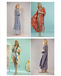 Ta Daaa.. The Wait is Over! The new Kimono Collection has just landed on the site. #kimono #dressinggown #robe  #ethicalclothing #loungewear #loungeinstyle #ss16collection #ss16