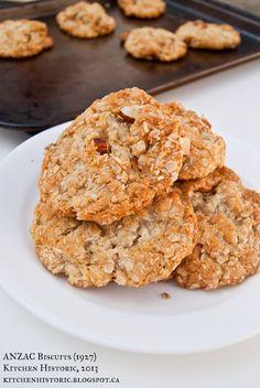 Kitchen Historic: ANZAC Biscuits (1927) ★★★★★