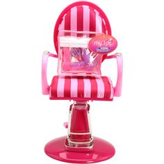 "18"" - My Life As Salon Chair & Hair Salon Accessories for Dolls"
