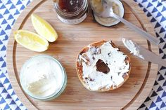 This homemade vegan cashew cream cheese is the perfect dairy-free spread for any bagel and tastes even better combined with a red onion marmalade.