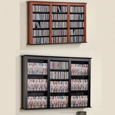 Great Creative CD DVD Storage Ideas For Perfect Decor!