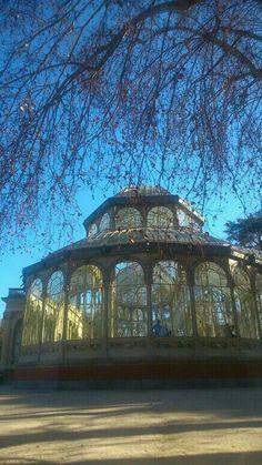 Palacio de Cristal, Madrid. El Retiro. #Madrid. #ElRetiro.