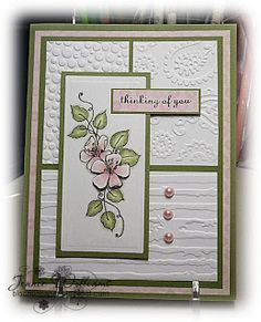 Bloomin' Paper: March 2011 embossing folder
