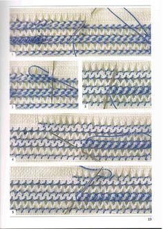 Gallery.ru / Фото #22 - Donatella Ciotti - Hardanger Embroidery - CrossStich
