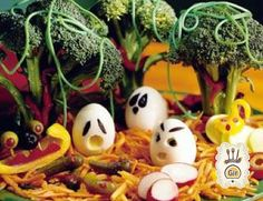 ChefGir: Fantasmini di uova per Halloween