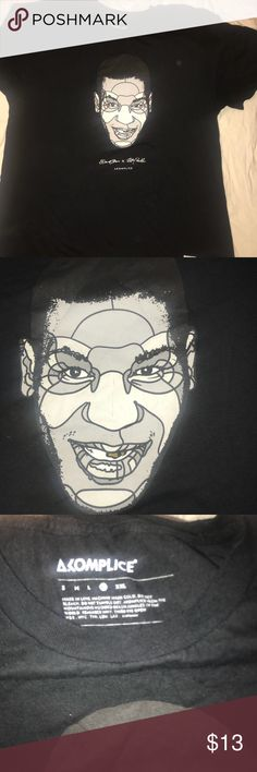 Gently worn Akomplice Mike Tyson shirt Gently worn. Face is cracking a little bit. Comes from pet/smoke free home. akomplice Shirts Tees - Short Sleeve