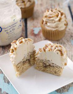 Salted Bourbon Butterscotch Cupcakes - The Cake Merchant