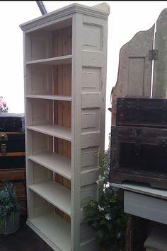 bookshelves from old wood doors - Google otsing