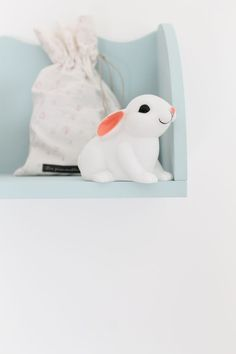 Forget chocolate! The ULTIMATE Easter gift is this ADORABLE Woodland Rabbit LED Night Light! LOVE!!  #easter #nightlight #woodlandbunny #babygift #designerbaby #designerkids