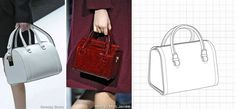 An easy silhouette for any woman to carry, the bowler bag becomes a more important style as we begin to see the traditional tote fade out for Fall/Winter 2014 Fashion Trends, 2014 Trends, Shoe Sketches, Bag Illustration, Fall Winter 2014, Autumn, Luxury Bags, Leather Working, Bag Accessories