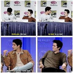 Apparently, they have to pee. GIFset