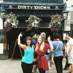 Dreaming of summery times  #london #pub #friends #summer #trip  #holiday #dirtydicks #blue #red #adventure #explore #markets #england #hot #fun by wee.glitter.moon http://bit.ly/AdventureAustralia