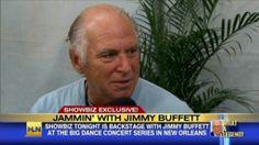 Backstage with Jimmy Buffett