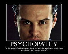 Moriarty (Andrew Scott) Motivational Poster -