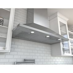 "Zephyr Europa Siena Pro 48"" 1200 CFM Wall Mount Range Hood in Stainless Steel                                                                                                                                                                                 More"