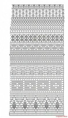 Tutorial: Crochet chart reading Explained nicely for a beginner.Discover thousands of images about Tutorial: Crochet chart readingCROCHET - Lovely Feminine Wide Boarder Lattice Stitch Pattern (Asian Pattern, Found on Russian Website (allmyhobby. Crochet Baby Dress Pattern, Crochet Diagram, Crochet Chart, Crochet Cardigan, Filet Crochet, Crochet Motif, Crochet Lace, Crochet Summer, Crochet Stitches Patterns