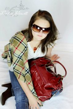 Ladies Wrap, Purse, Sunglasses and Necklace! All available online at www.funkyfleece.com Red Leather, Leather Jacket, Yummy Mummy, Teen, Purses, Sunglasses, Lady, Jackets, Fashion