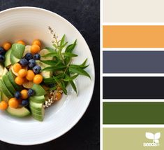 culinary color - these colors made me think of my sister...so strong and pretty @shannagr
