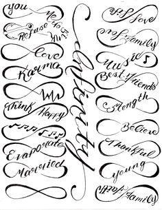 infinity symbols 3 tattoo ideas