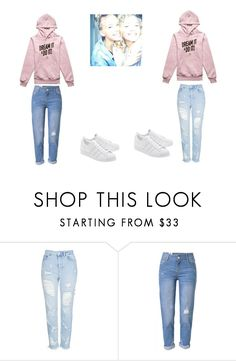 """""""lisa and lena"""" by lisaandlenafan101 ❤ liked on Polyvore featuring Topshop and WithChic"""