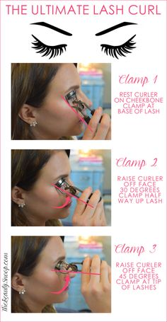your lashes like a pro with these steps. Curl your lashes like a pro with these steps. your lashes like a pro with these steps. Curl your lashes like a pro with these steps. Curl Lashes, Curling Eyelashes, Fake Eyelashes, Long Lashes, Eyelash Tips, Eyelash Tinting, Best Eyelash Curler, Belleza Diy, Tips Belleza