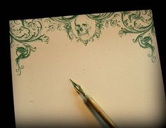 La muse absinthe paper by the1900letter on etsy