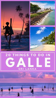 Things To Do In Galle Compared to other Sri Lankan UNESCO sites such as Anuradhapura, Polonnaruwa and Dambulla Caves, Galle Fort is a much younger attraction. Sri Lanka, Travel Guides, Travel Tips, Stuff To Do, Things To Do, Asia Travel, Travel Abroad, Nepal, Travel Inspiration