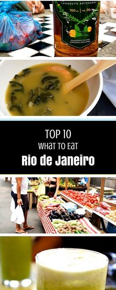 What to eat in Rio de Janeiro: fruits, meals, drinks and more