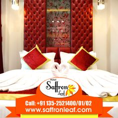 Designed to make guests feel relaxed and at ease, these beautiful rooms have a luxuriously homely feel with walnut panelling, sumptuous drapes and the choice of king or twin-sized beds. For more details log on to www.saffronleaf.com