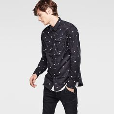 G-Star RAW   Men   Denim-shirts   Arc 3d Shirt , Rinsed