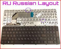 New Keyboard RU Russian Version For HP Pavilion 720670-001 725365-001 AER68U00310 v140546bs1 Laptop with Frame