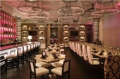 Fedora-Dallas (no room fee). $3500 food/beverage minimum on a weekend for use of the entire restaurant