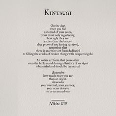 #poetry #nikitagill