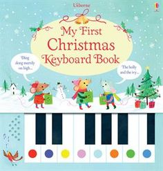 Little children can discover the fun of making music with the miniature keyboard and festive tunes in this enchanting book. $18.99