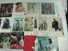 23 original Smirnoff's Vodka magazine ads 1954 to 2000. The largest advertisement is approximately 10 x 14 inches. Each ad inconspicuously d...$24.99