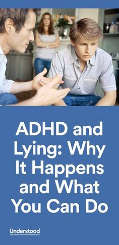 """Apart from the lying most children do at some point, kids with ADHD may tell lies as a part of their ADHD symptoms."""