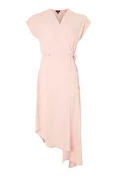Asymmetric Wrap Dress