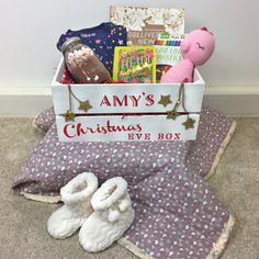 Christmas Eve boxes are one of the latest trends for Christmas, and we're here to give them a crafty makeover! Designed to be filled with fun things to do on Christmas Eve, they are traditionally for kids, but can be adapted for any recipient.