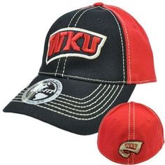 Western Kentucky Hilltoppers WKU Hat Cap NCAA Flex Fit Stretch Stitch Top  World by Top of the World.  15.99. Genuine Top of The World Merchandise. e622378d3