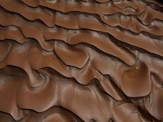 """colourparadise: """" Arizona Canyon Mud Photograph by Bill Hatcher Mud tracks ripple like melted chocolate after a flood washed through a slot canyon in Arizona. Looks like a brownie frosting haa """" Like Chocolate, Melting Chocolate, Craving Chocolate, Chocolate Color, Chocolate Chocolate, Chocolate Frosting, Patterns In Nature, Textures Patterns, Pattern Photography"""