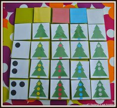 Annelies' blog, kleuterjuf in spé... Noel Christmas, Christmas Themes, Holiday Decor, Winter Activities, Math Activities, Logo Noel, Montessori Math, Theme Noel, Teaching Kindergarten