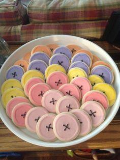 La la loopsy button cookies