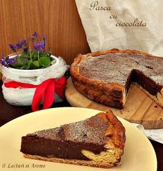 pasca ciocolata_3 Romanian Food, Something Sweet, French Toast, Bakery, Recipies, Cheesecake, Sweets, Breakfast, Desserts