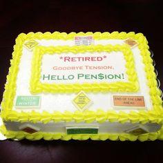 pinterest retirement ideas | pin retirement sheet cake on pinterest