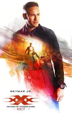 xXx: Return of Xander Cage Neymar Jr. Neymar Jr, Vin Diesel, Hd Streaming, Streaming Movies, Lionel Messi, New Movies, Movies Online, All Hollywood Movie, Paris Saint Germain Fc
