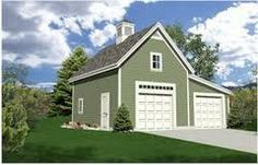 Two storey on one side but still dble garage.
