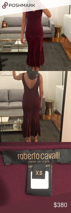 Roberto Cavalli Dress PLUM DRESS. SIZE XS. NEVER WORN. Roberto Cavalli Dresses
