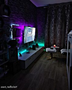 Best Gaming Setup, Gaming Room Setup, Home Music, Bedroom Setup, Video Game Rooms, Game Room Design, Gamer Room, Game Room Decor, Girl Bedroom Designs